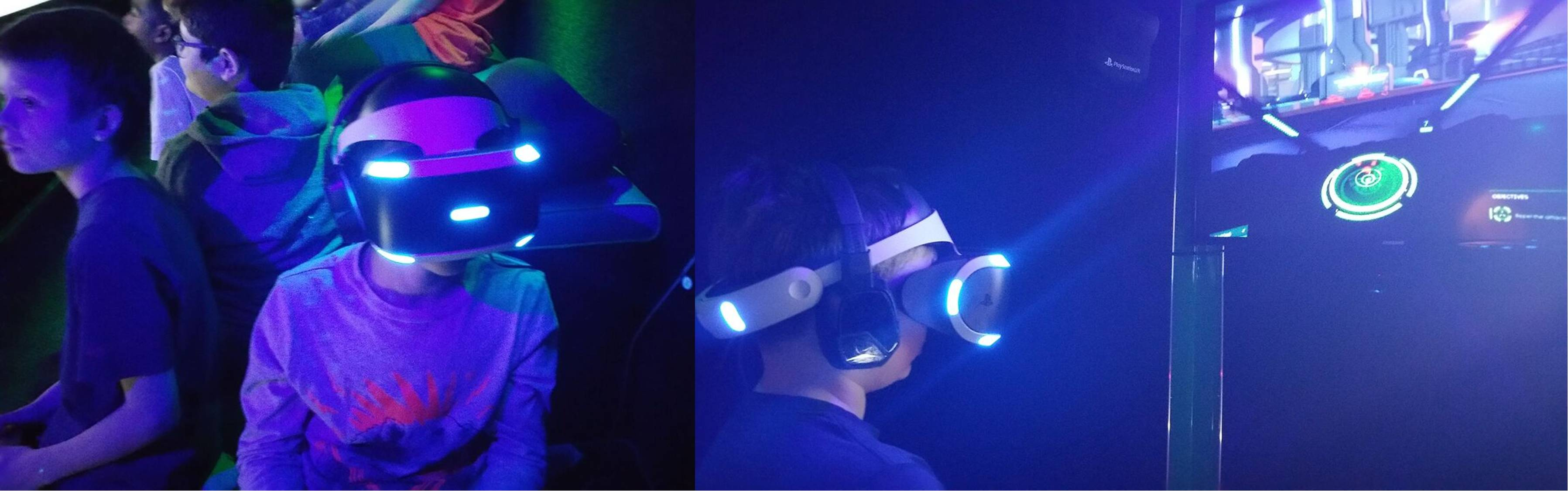 Virtual reality video game party in Dallas, Allen, Plano, Forney and Rockwall Texas